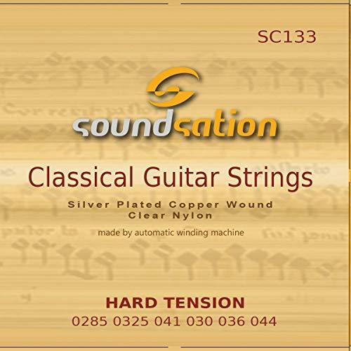 Saiten für spanische Klassikgitarre SOUNDSATION SC133 harte Spannung
