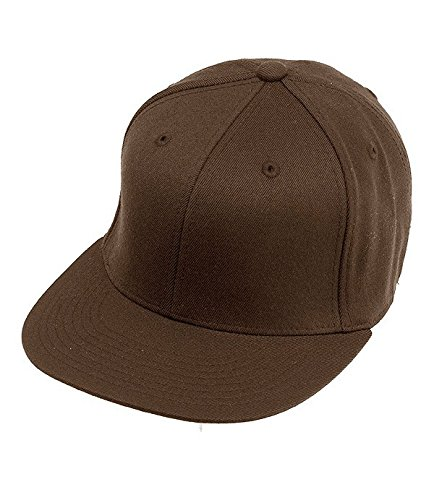 Flexfit Cap 210 Premium (S/M, brown) (Cap Brown Fitted)