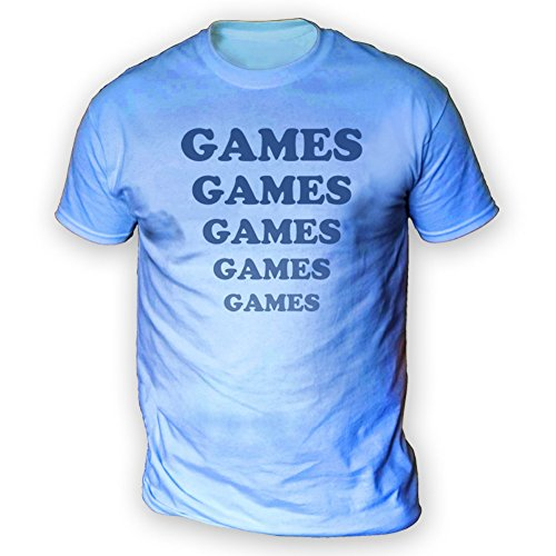 This Way Up Games Games Games Mens T-Shirt -x13 Colours- XS To 3XL Sizes