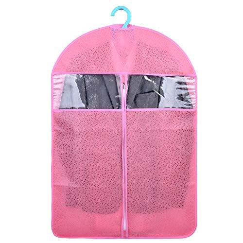 QFFL Sac de compression sous vide Housse anti-poussière pour vêtements, sac pour vêtements suspendus, pli domestique résistant à l'humidité (10 paquets) 5 couleurs Sac de protection