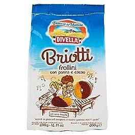 Divella Briotti Frollini con Panna e Cacao – 400 gr