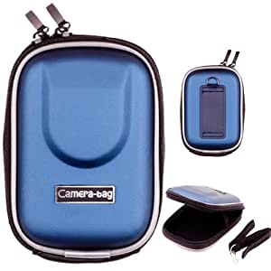 LUPO Water and Shock Resistant Universal Compact Digital Camera Bag Case - BLUE (Internal Size: 95 x 65 x 20mm)