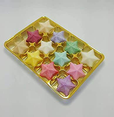 Wax Melts – 12 Fragrance Wax Tarts Set / Waxes for Burners – Bakewell Tart, Berrylicious, Vanilla, Lemon, Clean Cotton, Lavender, Magnolia Cherry, Sea Breeze, Lime, Rose, Candy Floss, White Musk by Twinkle Cottage