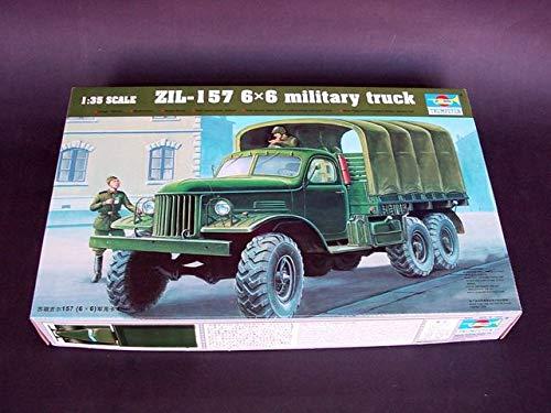 Trumpeter 01001 modèle Kit Zil-157 6 x 6 Soviet Military Truck