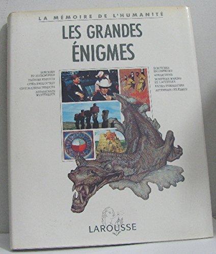 Les grandes énigmes par Collectif, Nadeije Laneyrie-Dagen