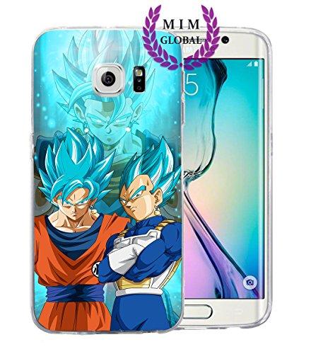 MIM Global Dragon Ball Z Super GT Protectores de Samsung S Series Case