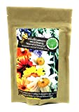 Pflanzensamen Wildblumen 250 g Blumensamen Saatgut Wildblumensamen nektarreich - farbenfrohe Blumenmischung zur ertragreichen Aussaat für bunte Blumenwiese Blumen für Bienen Schmetterlinge Insekten