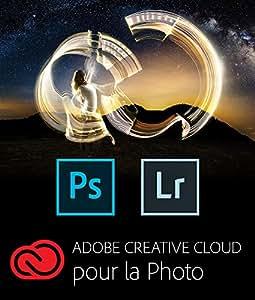 Adobe Creative Cloud pour la Photo - Photoshop CC + Lightroom |  PC | Téléchargement
