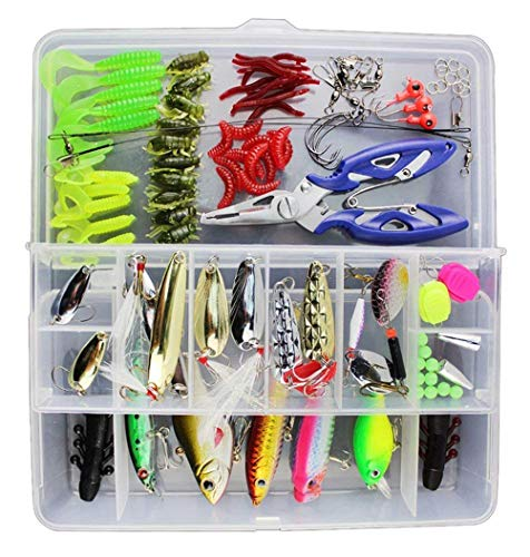 Vicloon 120 PCS Fishing Lures Mi...