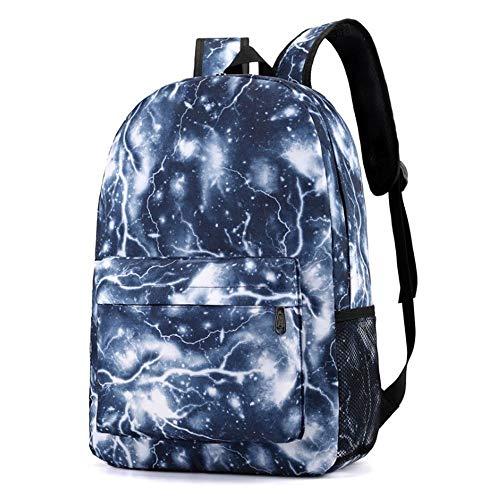 Paar Schultasche Reise Wandern Tasche Galaxy Backpack Collection Leuchttasche Teen Mode Damen Rucksack Tasche Leder Daypack