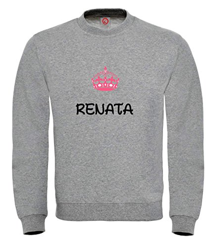 Felpa Renata - Print Your Name Black