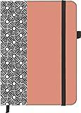 teNeues Circles Softtouch Notebook Notizbuch 16x 22cm weiß