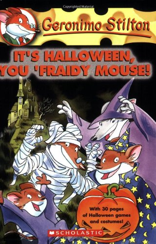 : It's Halloween, You 'Fraidy Mouse! (Guinea Pig Halloween)