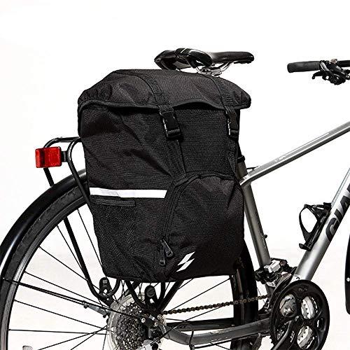 FDSEQ Gepäcktasche für den hinteren Koffer - Bike-Gepäckträgertasche - wasserdichte Gepäckträgertaschen mit einem Gesamtvolumen von 15 Litern