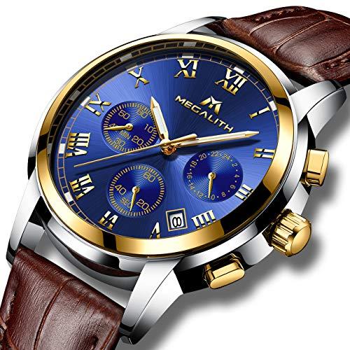 811b20ff1814 Relojes Hombre Reloje de Pulsera Deportivo Cronografo Impermeable ...