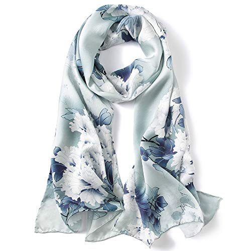 Silk Scarves Women Ladies 100% S...