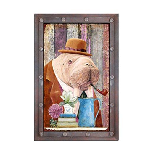 er Zeichen Retro Vintage Holz Kunstwerk Niedlich Pulpa ()