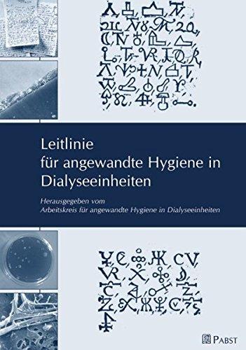 Leitlinie für angewandte Hygiene in Dialyseinheiten