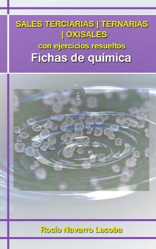 Sales terciarias / ternarias / oxisales con ejercicios resueltos (Fichas de química)