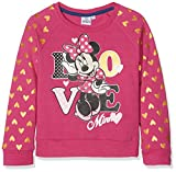 Disney Minnie Mouse Sudadera, Rosa (Fushia 18-2436TC), 6 años para Niñas