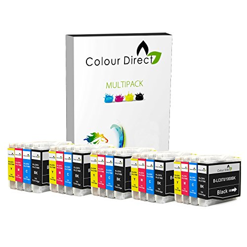 Mfc-3360c Farbe (20 Colour Direct LC970 / LC1000 Kompatibel Druckerpatronen Ersatz für Brother DCP-130C / DCP-135C / DCP-150C / DCP-155C / DCP-330C / DCP-350C / DCP-375C / DCP-540CN / DCP-560CN / DCP750CW / DCP-770CW / Brother MFC-230C / MFC-235C / MFC-240CN / MFC-240C / MFC-260C / MFC-440CN / MFC-465CN / MFC-660CN / MFC-665CW / MFC-680CN / MFC-685CW / MFC-345CW / MFC-885CW / MFC-3360C / MFC-5460CN / MFC-5860CN / Brother Fax-1360 / Fax-1355 / Fax-2480C / Fax-1460 / Fax-1560)