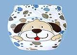 12 Stück MULTIFUNKTION Baby Unterhosen – Wasserdicht Wiederverwendbare Waschbare Elastische Baby Windeln Windelhose / Unterwäsche zum Toilettentraining Töpfchentraining Trainerhose, Baumwolle, Cartoon Pattern, Größe L für ca. 16kg - 4