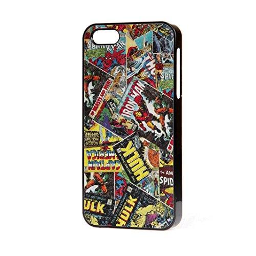Marvel Comic Book Spiderman Hulk Thor iPhone 4-4S Fall Telefon Kostenlose P & P. (Marvel-comic-iphone Fälle 4)