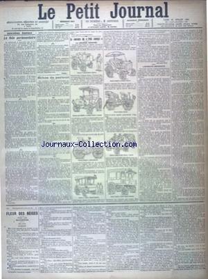 PETIT JOURNAL (LE) [No 11532] du 23/07/1894