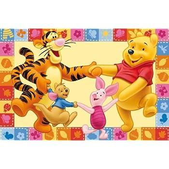 ToyOne Disney Winnie Pooh & Friends Kinder Teppich 170x100cm: Amazon ...