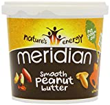 Meridian Natural Smooth Peanut Butter with No Added Salt 1 Kg