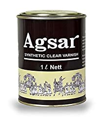 AGSAR Synthetic Clear Varnish(1 Lit)