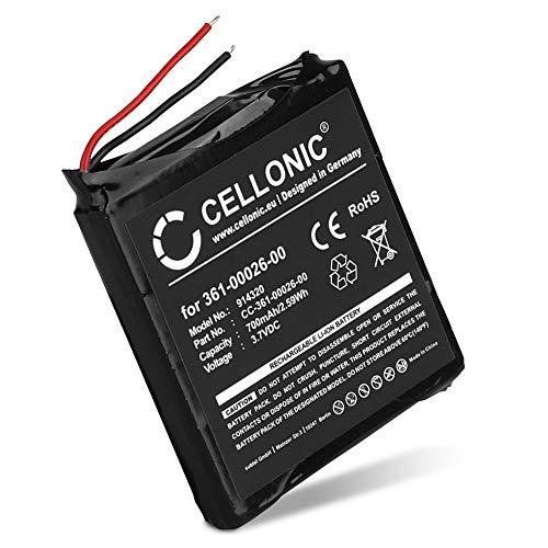 CELLONIC® Qualitäts Akku kompatibel mit Garmin Forerunner 205, Forerunner 305 (700mAh) 361-00026-00 Ersatzakku Batterie