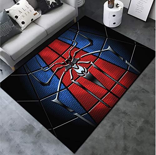 juan Teppichkunst Kleinkind Pad Cartoon Anime Wohnzimmer Bereich Schlafzimmer Teppiche Couchtisch Kinderzimmer Persönlichkeit Spider-Man Weiche Familie 200 cm * 300 cm