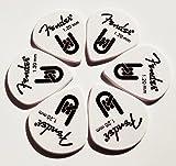 Custom Fender Delrin Guitar Picks | 1.2mm (Heavy)| Set of 6
