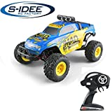 s-idee® 18142 S40 RC Auto Buggy Monstertruck 1:12 mit 2,4 GHz ca. 50 km/h Schnell, wendig, Voll Digital Proportional 4x4 Allrad WL Toys ferngesteuertes Buggy Q40 Racing RC Auto