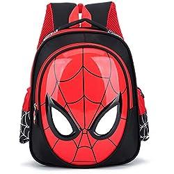 MITAO 3D 3-6 años Mochilas Escolares para niños Mochilas Impermeables Niño Spiderman Mochila para niños Bolso de Hombro Mochila Mochila