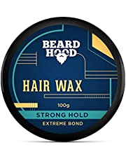 Beardhood Extreme Bond Strong Hold Hair Wax For Men Natural