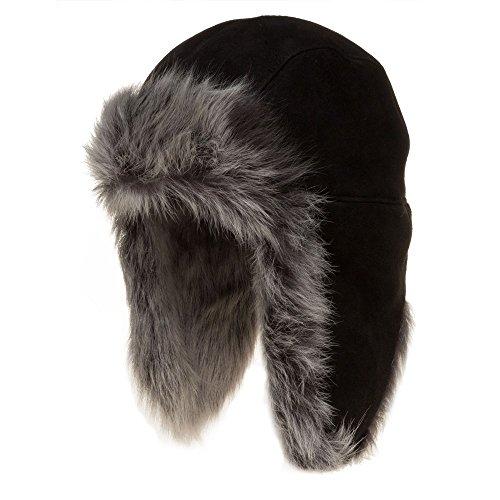 Ugg® Australia Sheepskin Trapper Damen Hut Schwarz