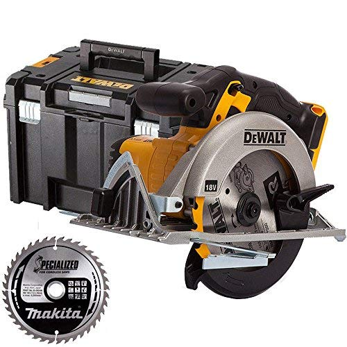 Dewalt DCS391N 18V 165mm XR Circular Saw With 165mm 40T Blade & Tstak Case