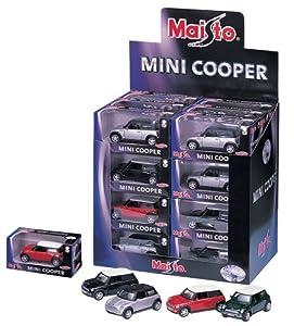 Bauer Maisto 524122 Fresh Metal Mini-Cooper - Saco de Dormir para bebé (12 cm, 24 Piezas)