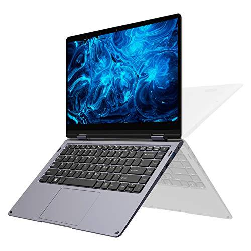 2019 XIDU PhilBook Max 14.1-Inch FHD Touch Screen Laptop, Slim Bezel 2-in-1 Convertible Laptop, Intel Apollo Lake, 6GB RAM, 128GB SSD, Backlit Keyboard, Windows 10 Ultrabook