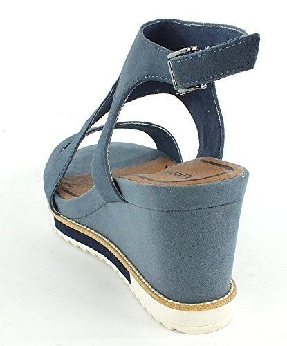 Tamaris - Scarpe con plateau Donna Jeans