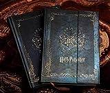 Vintage Harry Potter diario notebook con 2017–2018–2019calendario retro cover rigida agenda calendario planner Book Gift
