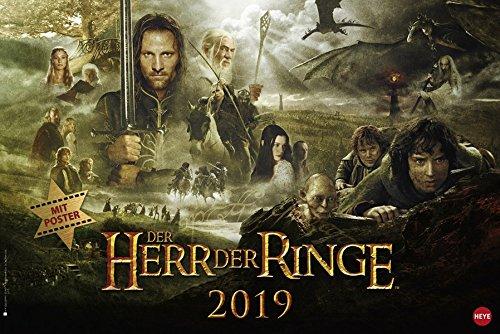 Der Herr der Ringe Broschur XL - Kalender 2019