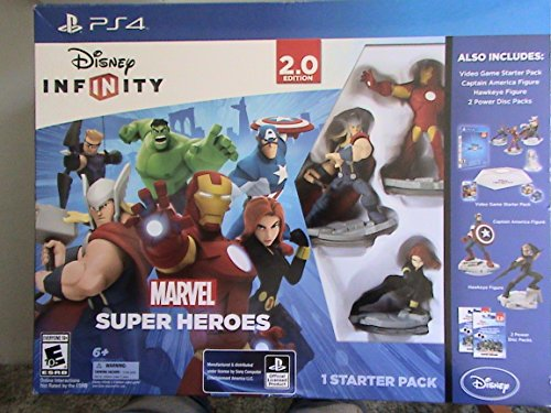 Disney Infinity Marvel Super Heroes Special Value Pack Exclusive for Playstation 4 [Videospiel] (Infinity Playstation 4)