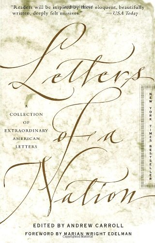 Letters of a Nation by Andrew Carroll (1999-01-05)