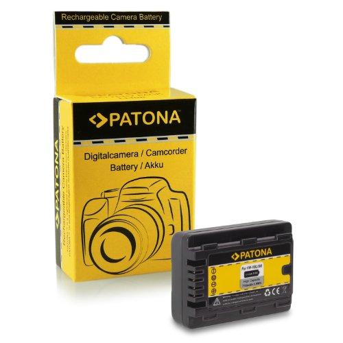 Akku / Batterie wie VW-VBL90 für Panasonic Camcorder HC-V10 | HC-V100 | V100M | HC-V500 | V500M | HC-V700 | V700M | HC-V707 | V707M | HS60 | HS80 | SD40 | SD60 | SD66 | SD80 | SD90 | SD99 | SDX1... V500-camcorder-batterie
