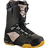 Nitro Snowboards–Barca Uomo Venture TLS Fox '17Snowboard Scarpe, Uomo, Snowboardschuhe Venture TLS Fox'17, Black, 31