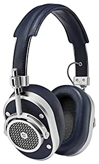 Master & Dynamic Signature MH40 Over-Ear Closed Back Headphones with High Sound Quality and High Level of Design, Navy/Silver (B00YD63Z4A) | Amazon price tracker / tracking, Amazon price history charts, Amazon price watches, Amazon price drop alerts