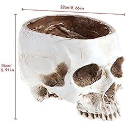 LANDUM - Diseño de cráneo, para decoración del hogar